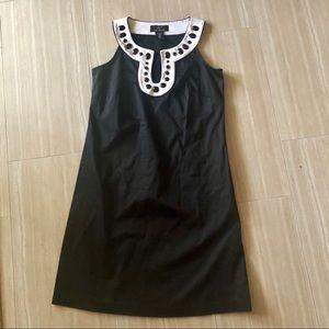 Nina Leonard Dresses - Lennie for Nina Leonard Jeweled Neck Mod Dress